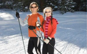Cross Country Skiing near Lake George