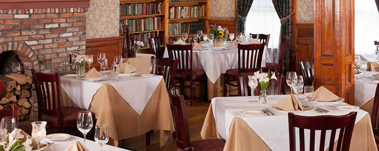 Dining Room - Fine Dining in the Adirondacks