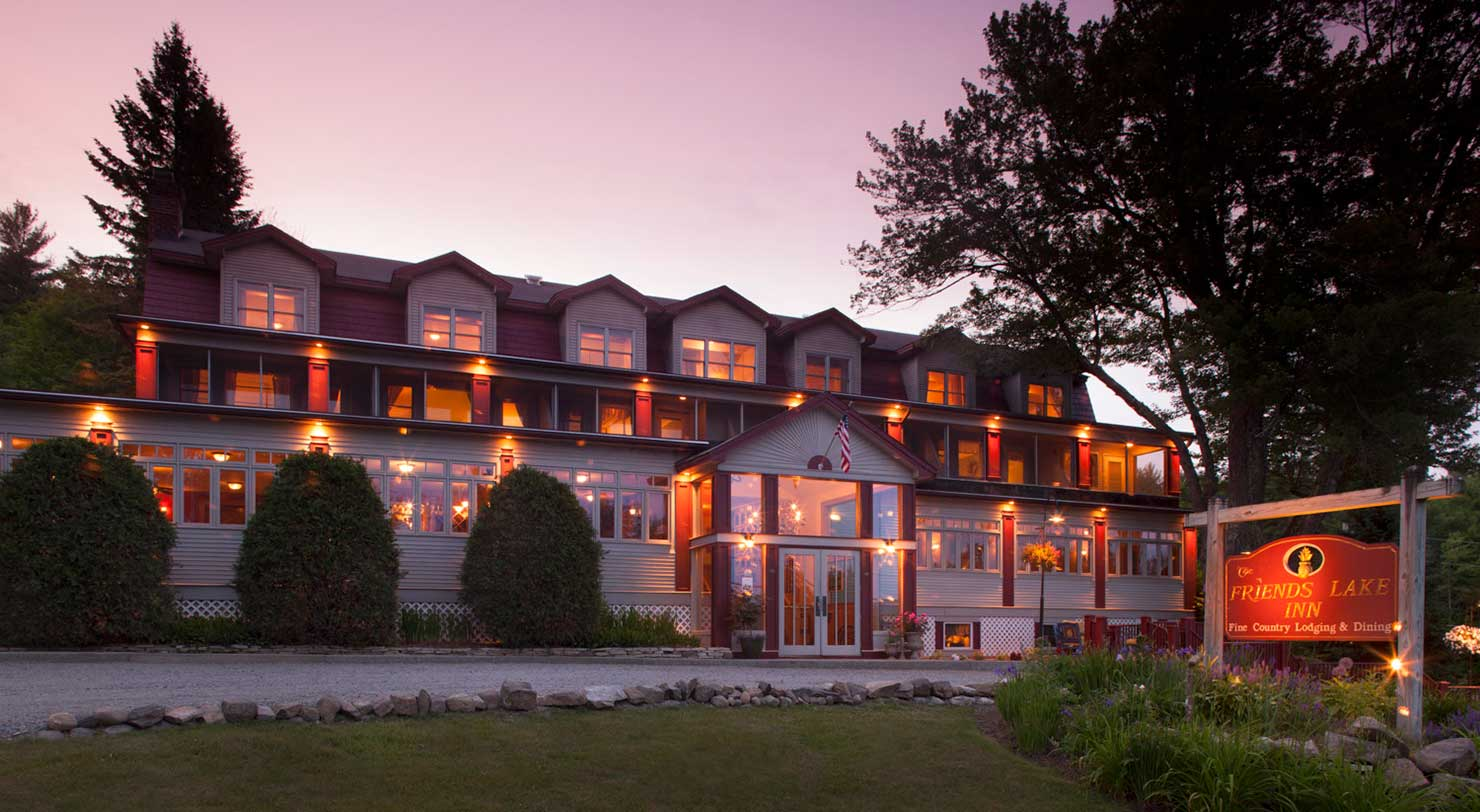 Inn near Lake George
