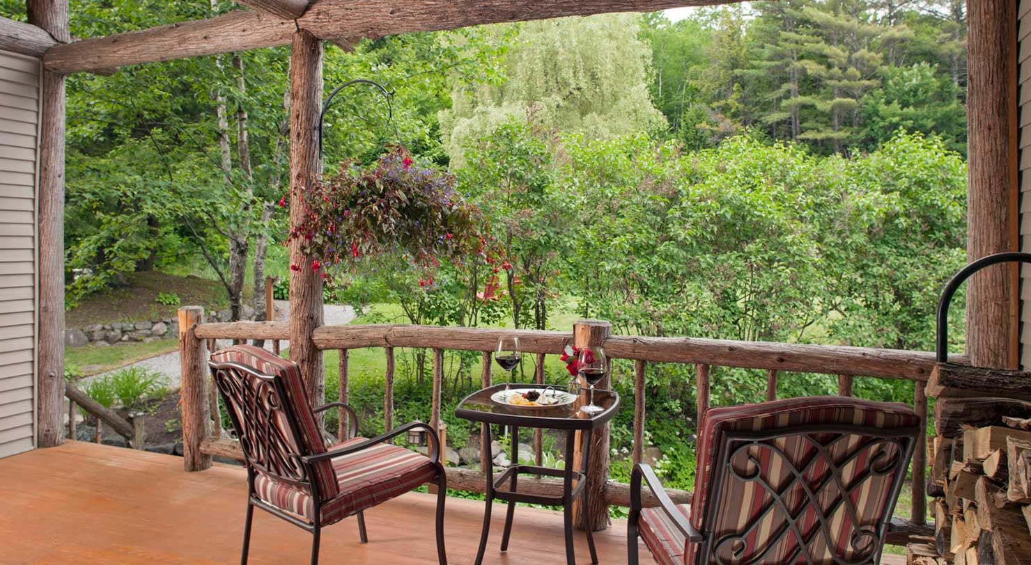 Adirondack lodging award winning inn near lake george for Upstate new york cabin