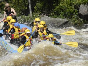 Rafting Hudson